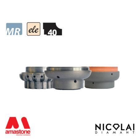 Electroplated Profile Wheels 60 - Shape L40 - Nicolai