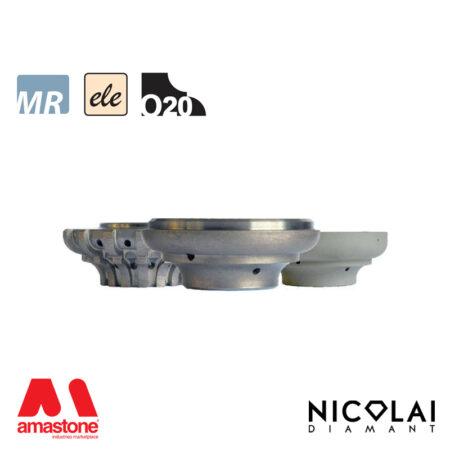 Electroplated Profile Wheels 60 - Shape O20 - Nicolai