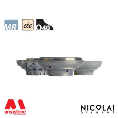 Electroplated Profile Wheels 60 - Shape O40 - Nicolai