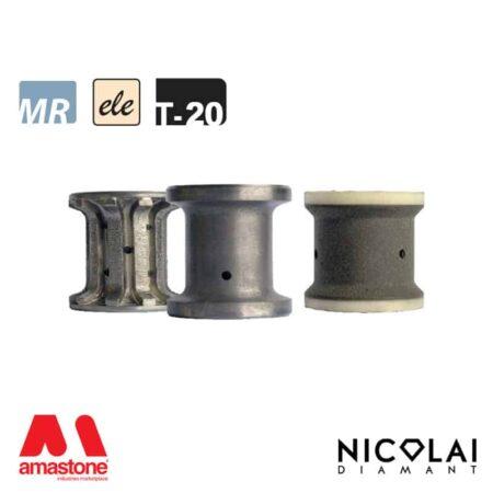 Electroplated Profile Wheels 60 - Shape T20 - Nicolai