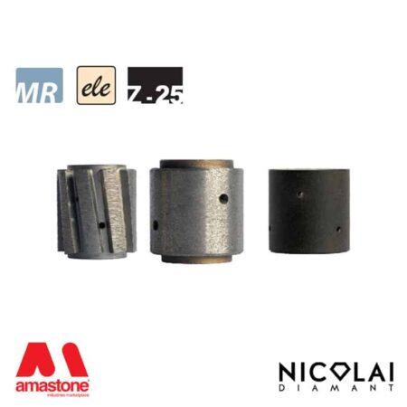 Electroplated Profile Wheels 60 - Shape Z h25 - Nicolai