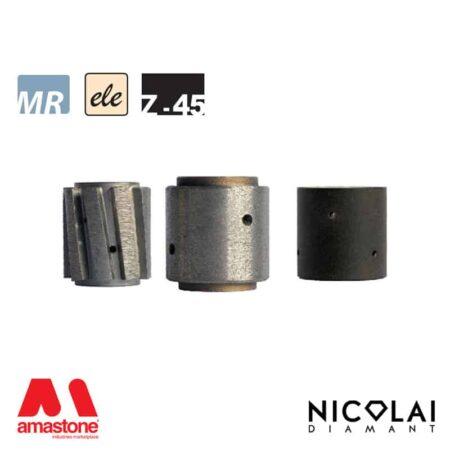 Electroplated Profile Wheels 60 - Shape Z h45 - Nicolai