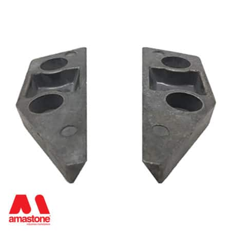 Aluminium holder for Frankfurt abrasives