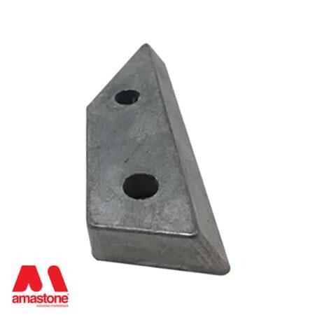 Aluminium holder SX for Frankfurt abrasives