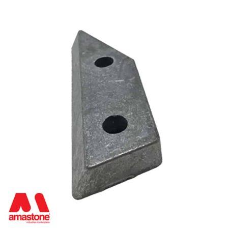 Aluminium holder DX for Frankfurt abrasives