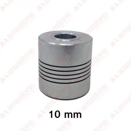 Aluminum flexible coupling - 10 mm