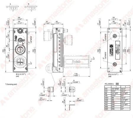 Piab - Vacuum pumps COAX SI32-3 - 64,8 m³/h