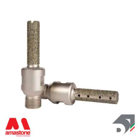 Electroplated finger bit for Marble - Diamar