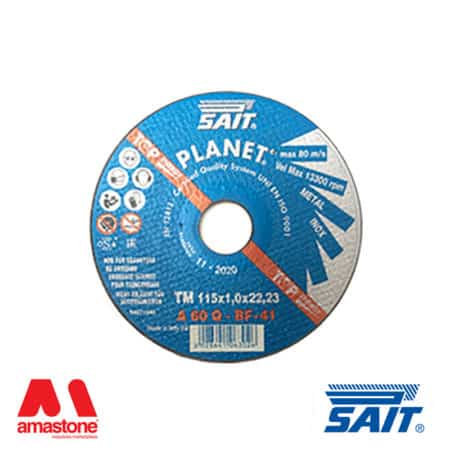Metal cutting disc flat Planet-TM A60Q – Sait (20pz)