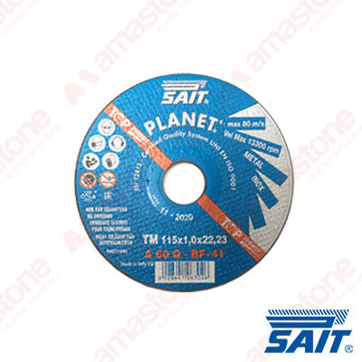 Flat cutting disc Ø115 mm Planet-TM – Sait Abrasivi
