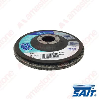 General purpose abrasive flap discs SAITLAM-FU - Flat