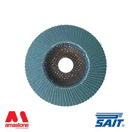General purpose abrasive flap discs SAITLAM-FU - Flat - Sait (10pz)