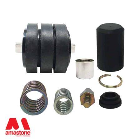 Pressure roller kit for Cavani edge polishers