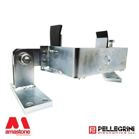Trolley arm for encoder wheel in Pellegrini trolley