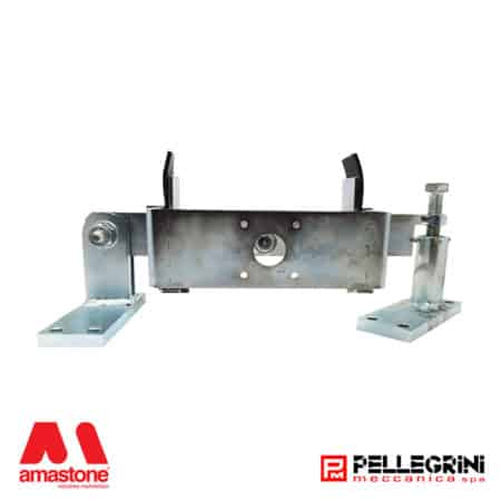 Trolley arm for encoder wheel in Pellegrini trolley