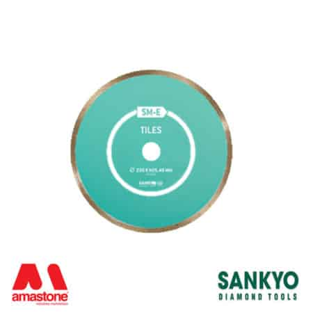 Cutting blade with continuous crown for ceramic and gres – Sankyo SM-E