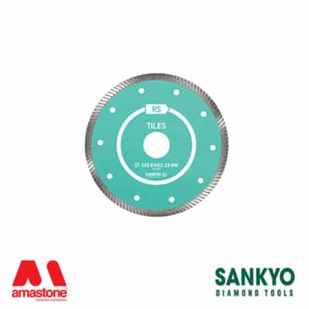 Cutting Blade With Turbo Crown For Granite – Sankyo Rs