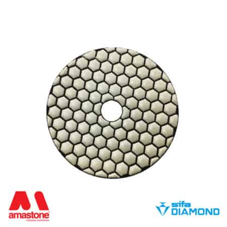 "Dry polishing pads ""Ninja"" Ø150 mm – Sifa"