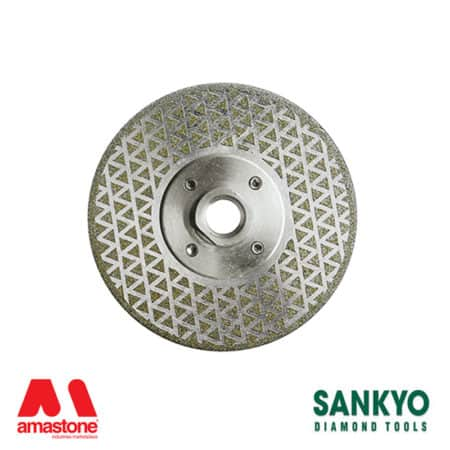 Electroplated diamond blade for cutting and polishing marble – Sankyo DDE Tris