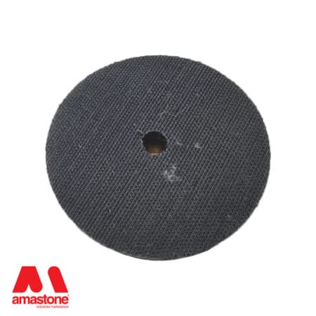 Flexible velcro backing pad with central hole – Sifa