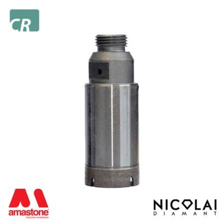 Continuous rim core bits - Ceramic, Gres - Nicolai