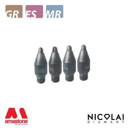 Drainboard metallic mills Ø12 mm - Nicolai