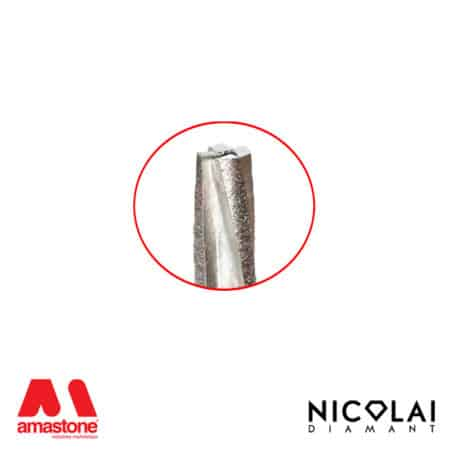 Segmented Conical Router Bit For Granite Nicolai 2