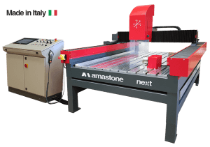 3 Axes Cnc Stone Router Amastone Next Made In Italy