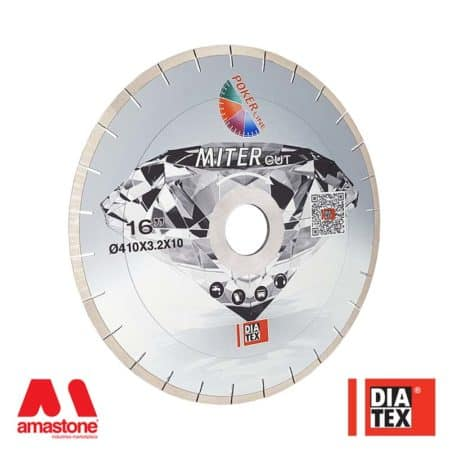 "Dekton / Laminam / Neolith bridge saw blade ""MITERcut"" 45° up to 20mm - Diatex"