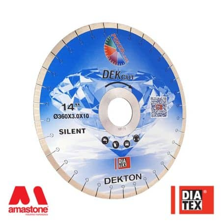 "Dekton bridge saw blades ""DEKcut"" – Diatex"