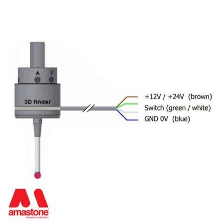 Touch probe 3D Measuring sensor – 3D Finder