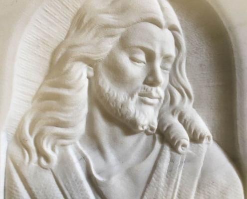 Jesus Bas-Relief