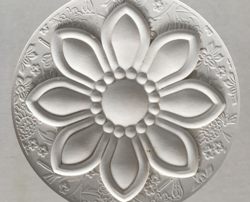 13 Cnc Stone Router Flower Relief Marble