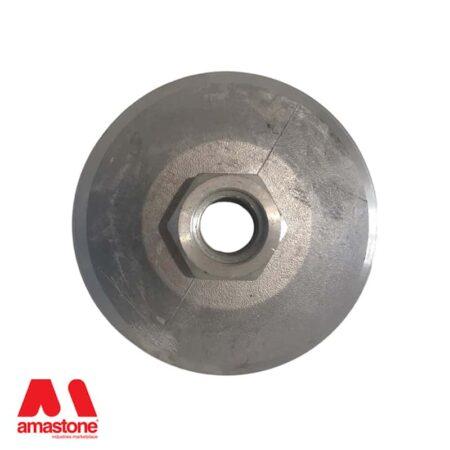 Backing pad snail fitting Dia.130 mm in aluminium