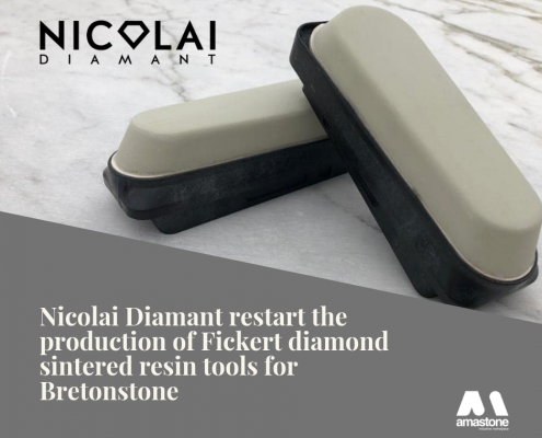 Nicolai Diamant Restart The Production Of Fickert Diamond Sintered Resin Tools For Bretonstone