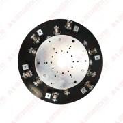 Bush-hammering plate for polishing machines - Ø600 mm