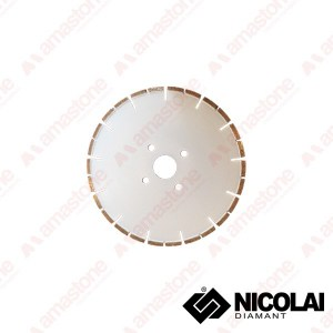 Diamond blade for CNC machines – Marble cutting – Nicolai