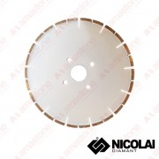 Diamond blade for CNC machines - Marble cutting - Nicolai