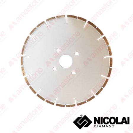 Diamond blade for CNC machines - Marble cutting - Nicolai