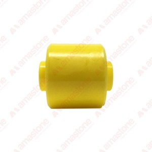 Plastic roller for roller conveyors