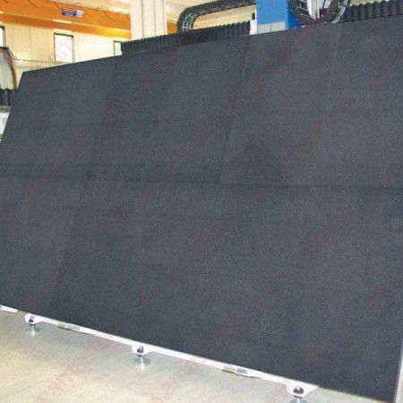 Rubber mat for bench cutting