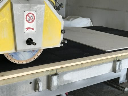 Rubber Matting Saw Table Amastone 3