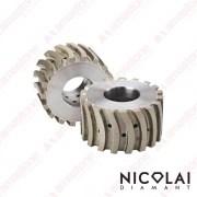 Segmented calibrating wheel for kitchen top edge Super Z – Nicolai