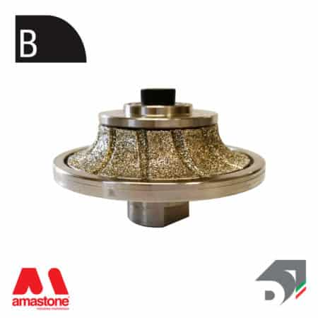 "Rotating toucher wheels for marble - Profile ""B"" – Diamar"