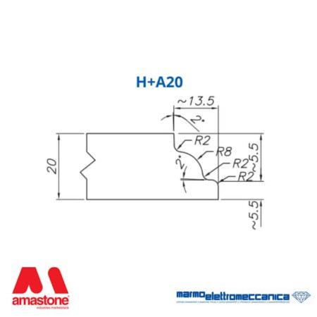 Line Master / Line IW - Profile Wheels H+A20 - MEM