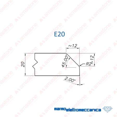 Line Master / Line IW - Profile Wheels E20 - MEM
