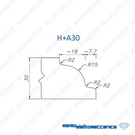 Line Master / Line IW - Profile Wheels H+A30 - MEM