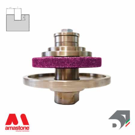 Rotating toucher wheels for drips – For ceramic and granite - Diamar