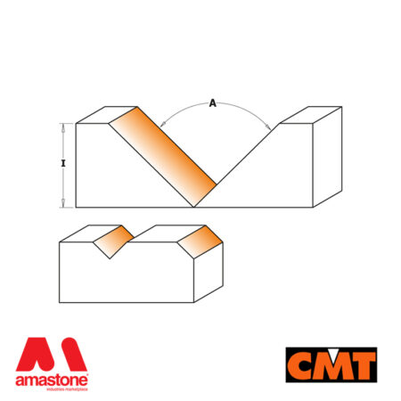 Router Bit V-groove Folding and Signmaking – CMT