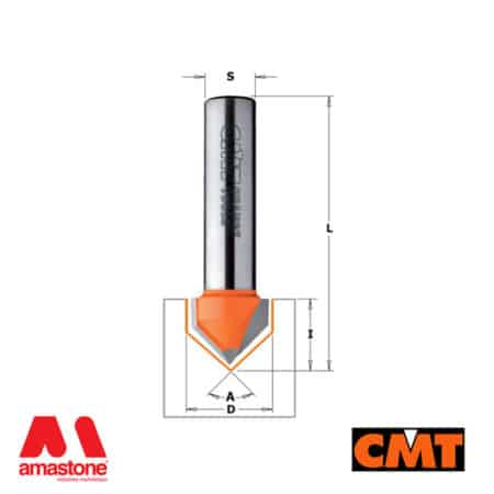 V-Grooving Router Bits 90° for Wood - CMT